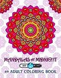 Mandalas at Midnight: Adult Coloring Book