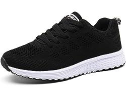 Scarpe Donna da Ginnastica Running Sports Sneaker da Fitness Allacciare Maglia
