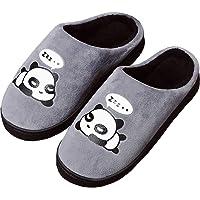 Gaatpot Donne Uomo Warm Cotone Pantofole Carine Panda Pantofole Ragazzi Ragazze Interni Antiscivolo Pantofole Scarpe di…