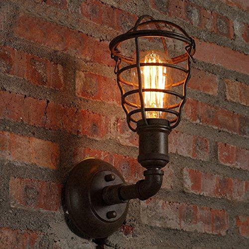 wandleuchtenloft-american-retro-industrial-bar-bugeleisen-wallcover-coffee-shop-restaurant-kreative-