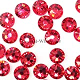1440 Swarovski 2058 9ss 2.7mm flatback rhinestones ss9 INDIAN PINK F by Crystal-Wholesale