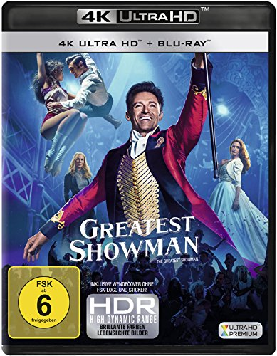 Greatest Showman - Ultra HD Blu-ray [4k + Blu-ray Disc]