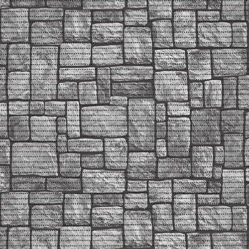 Weichschaummatte Badevorleger für WC /& Küche Antirutschmatte Grau Weiß Steine