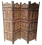 Aarsun Handcrafted Wooden Partition / Ro...