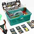 Matt Hayes Adventure - CARP and COARSE Fishing Loaded Accessory Terminal Tackle Box Set - Designed for Float and Method Fishing Tackle [99-7476228] from FLADEN