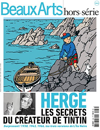 Beaux Arts Magazine, Hors-série : Hergé : Les secrets du créateur de Tintin par Collectif