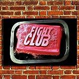 Box Prints Fight Club Soap Film Retro Vintage-Stil Poster Drucken Schwarz Weiß gerahmte Kunst Bild Klein groß