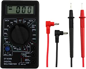 Dt 830b Mini Typ Multifunktionelles Handheld Digital Multimeter Gelb Schwarz Küche Haushalt