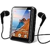 Bluetooth 5.0 Reproductor MP3, 16GB Reproductor de Música 1.8 Pulgadas Pantalla Táctil Completa, con Altavoz, FM Radio, Graba