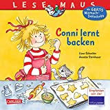 LESEMAUS 81: Conni lernt backen