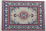 European Upscale Decoration Floor Rug Carpet Elegant Stylish Multicolored