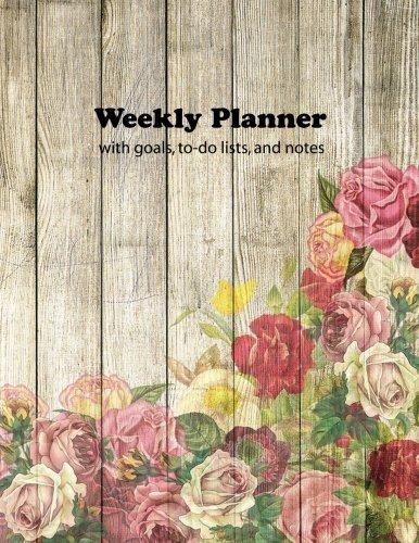 Weekly Planner: Large 8.5