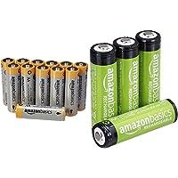 Amazon Basics Performance Batterien Alkali, AA, 12 Stück (Design kann von Darstellung abweichen) & AA-Batterien…