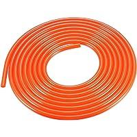 LNIEGE PU Polyurethane Round Belt 5mm*10m Surface Rough Green Belt for Drive Transmission