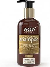 WOW Anti Dandruff No Sulphate & Parabens Shampoo, 300mL