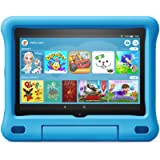 Fire HD 8 Kids tablet | for ages 3-7 | 8' HD display, 32 GB | Blue Kid-Proof Case