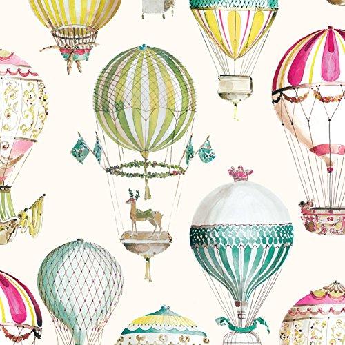 hot Air Ballon Kinder Zimmer Tapete non-Woven-Wallpaper von Cartoon-Wandbilder Süßen jungen und Mädchen Schlafzimmer Tapeten-B