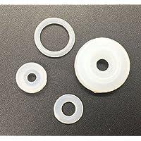 Sellador flotador de junta de silicona, 4 piezas/set de repuesto universal para modelos