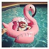 Flamingo Schwimmen Schwimmsitz Aufblasbares Baby Float Swim Ring Nette schwimmendes Boot für Kleinkinder, Pool Spielzeug für Kinder