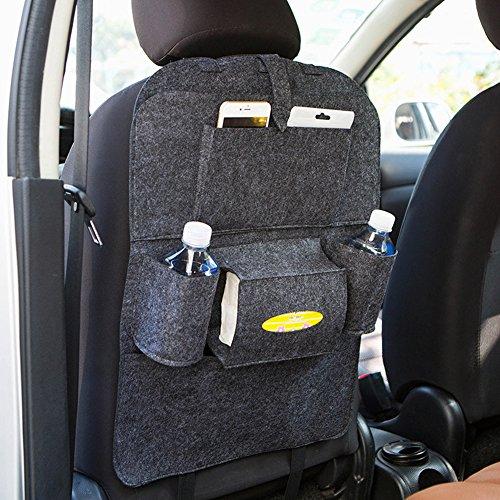 Autositz Organizer homdsim Auto Rücksitz Organizer car-styling Halter Filz Bezüge vielseitig 4. Sitz Wollfilz Container Box zum Aufhängen