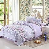 huyiming bed linings Wird für Heimtextilien-Bettwäschesätze mit Vier AB-Versionen des Schleifbettwäschepakets verwendet. 1.2Bett vierteiliger Bettbezug160 * 210