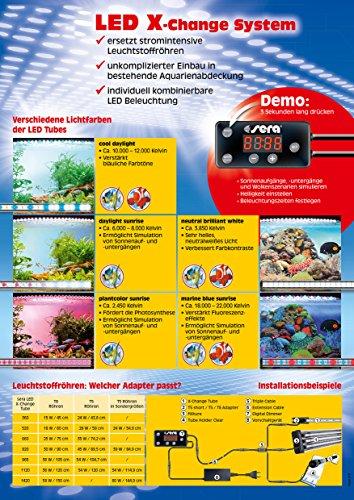 sera 31070 LED Digital Dimmer – mit Simulation zweier verschiedener Wolkenszenarien und zur individuellen Steuerung der sera LED-Beleuchtung - 2