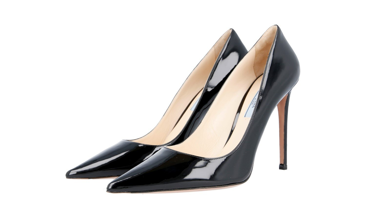 ec9c1abf9 Prada Women s 1I939F 069 F0002 Leather Court Shoes Pumps - ItalianBoutique. co.uk