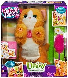gatito: Furreal Friends - Peluche Daisy, mi gatita juguetona (Hasbro A2003E35)