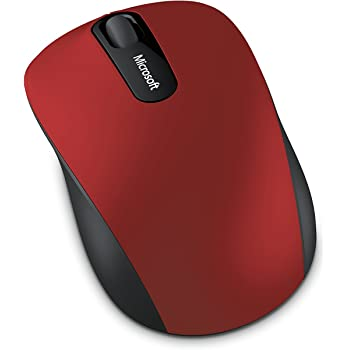 Microsoft Bluetooth Mobile Mouse 3600 - Souris Bluetooth Rouge