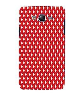 EPICCASE stripe daimonds Mobile Back Case Cover For Samsung Galaxy J7 (Designer Case)