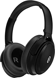 TaoTronics Active Noise Cancelling Bluetooth Headphones HiFi Stereo Wireless Over Ear Deep Bass Headset w/cVc Noise Cancelin