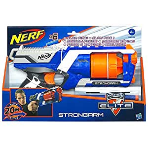 NERF N-Strike Elite Strongarm Blaster, 7.4 x 33.7 x 22.2 cm