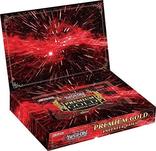 Yu-Gi-Oh Premium Gold: Infinite Gold Mini Box [3 Mini Packs]