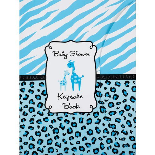 Sweet Safari Boy Keepsake Book by Amscan (Boy Safari Sweet)