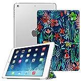 FINTIE Custodia per iPad Air 2 (Modello 2014) / iPad Air (Modello 2013) - Ultra Sottile del Basamento Leggero Smart Cover Case con Auto Svegliati/Sonno Funzione, Jungle Night