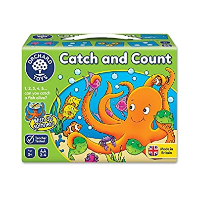 Orchard Toys - Orch002 - Jeu De Société Éducatif - Attrape Et Compte