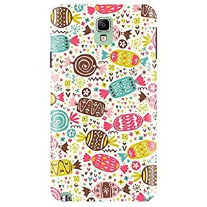 Wildpunch WP-SN3(43) Candy Pattern Designer Phone Back Cover Case For Note 3 (Multicolor)