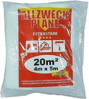 transparent KIPPEN 1220 B/âche de protection universelle 4 x 4 16 m/²