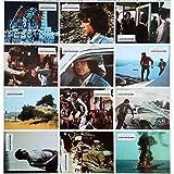 A CAUSE D'UN ASSASSINAT Photos de film x12-21x30 cm. - 1974 - Warren Beatty, Alan J....