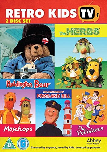 Retro Kids TV Box Set [DVD] - 5 hours of nostalgic fun!