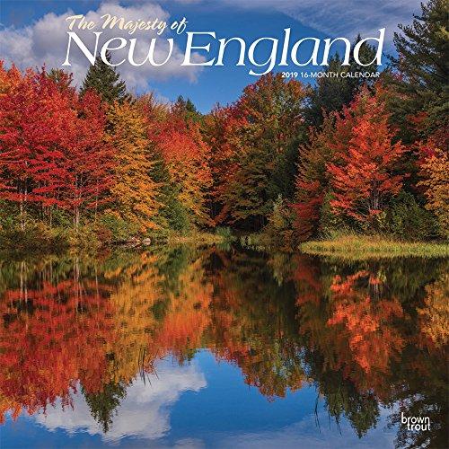 The Majesty of New England - Neuengland 2019 - 18-Monatskalender: Original BrownTrout-Kalender, mit freier TravelDays-App por Inc. Browntrout Publishers