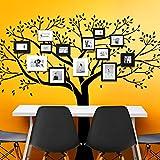 Wandora W1354 Wandtattoo Baum mit Ästen und Blättern Kupfer (BxH) 179 x 150 cm