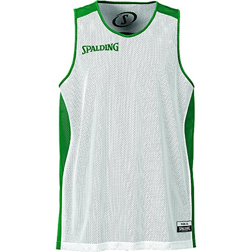 Spalding Teamtrikots & Sets Essential Reversible Shirt, grün/weiß, S, 300201403