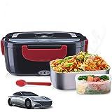 Janolia Boîte à Repas Électrique, Boîte à déjeuner électrique Portable pour Voiture, Réchauffeur d 'Aliments portatif…