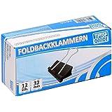 TTO Foldbackklämmor 32 mm, 12 st