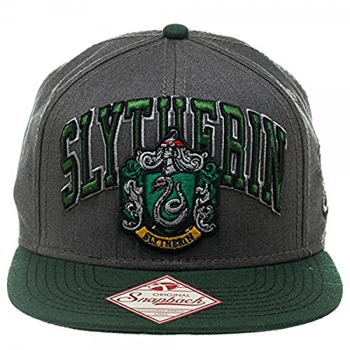 Harry Potter Slytherin Snapback Cap