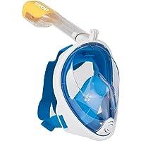 Emsmil Tauchmaske Schnorchelmaske Vollmaske mit 180 Grad Betrachtungsfläche Anti Fog Anti Leak Easybreath…