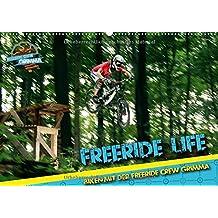 Freeride Life (Wandkalender 2018 DIN A2 quer): Biken mit der Freeride Crew Grimma (Monatskalender, 14 Seiten ) (CALVENDO Sport)