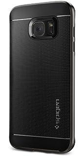 Spigen Neo Hybrid Back Cover Case Designed for Samsung Galaxy S7 Edge   Gunmetal