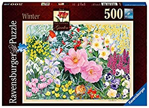Ravensburger la Cottage Garden nº 4 - Invierno 500pc Jigsaw Puzzle